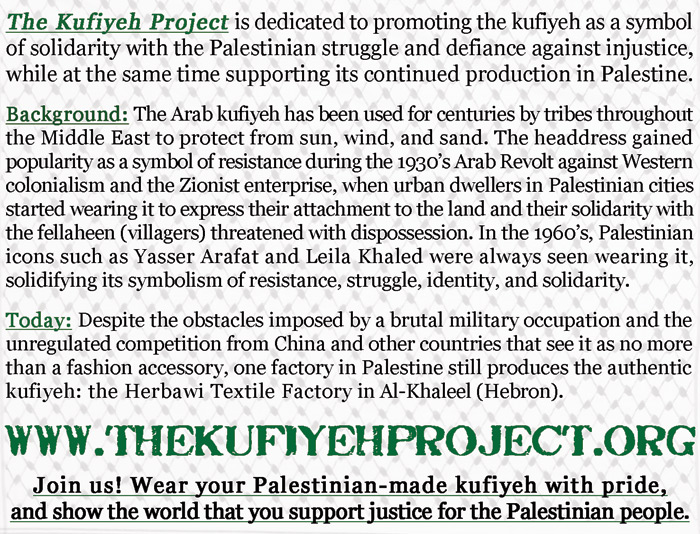 The Kufiyeh Project - card